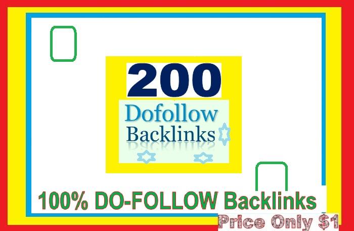 Manage & add 200 Do-follow Backlinks (mix platforms) for Your Websites
