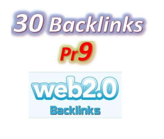Manage 30 Pr9 Web2.0 Blog article Backlinks for Your Websites