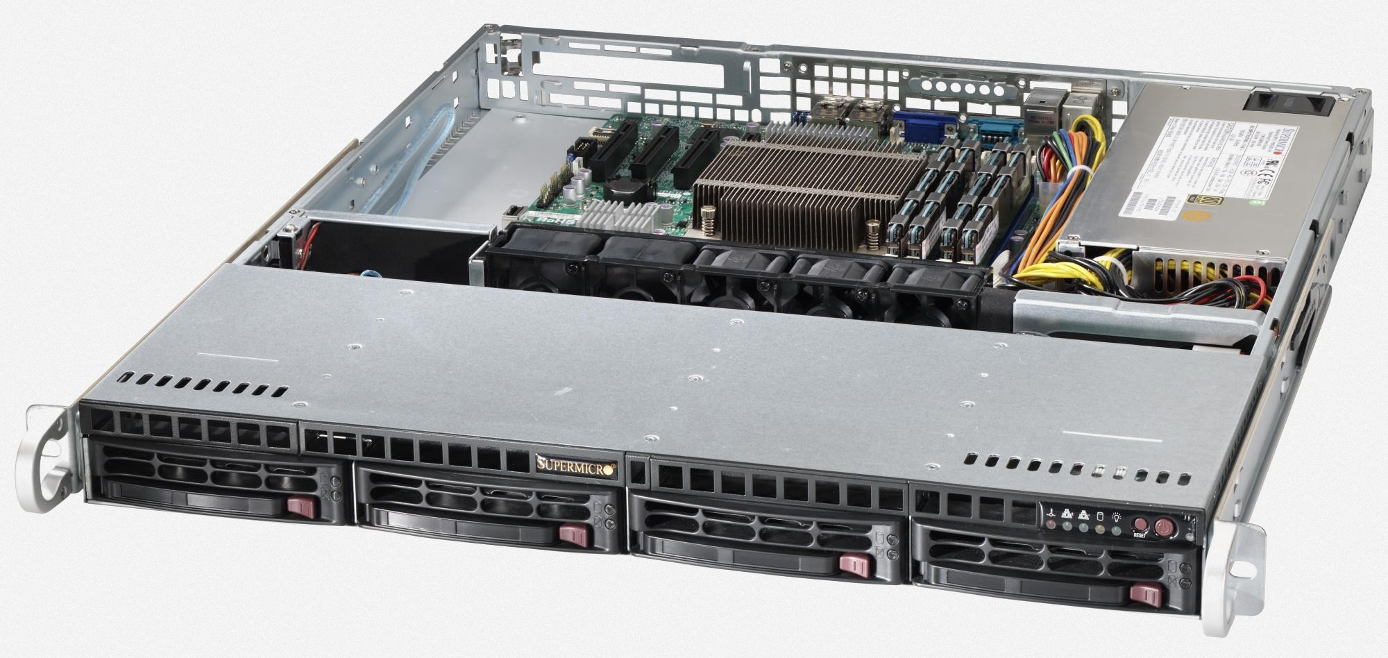 Dedicated server 8 Threads,  12GB RAM,  500GB Drive