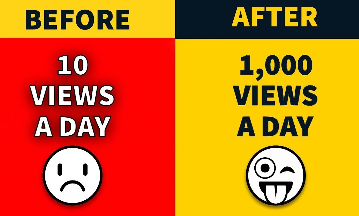 Non drop 1000 yotube video views