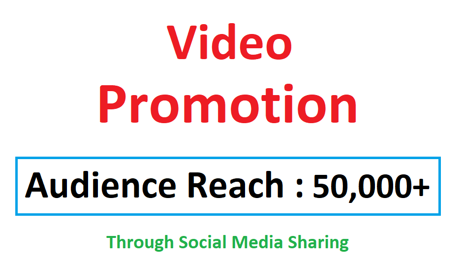 Video Viral Marketing Promotion 50k