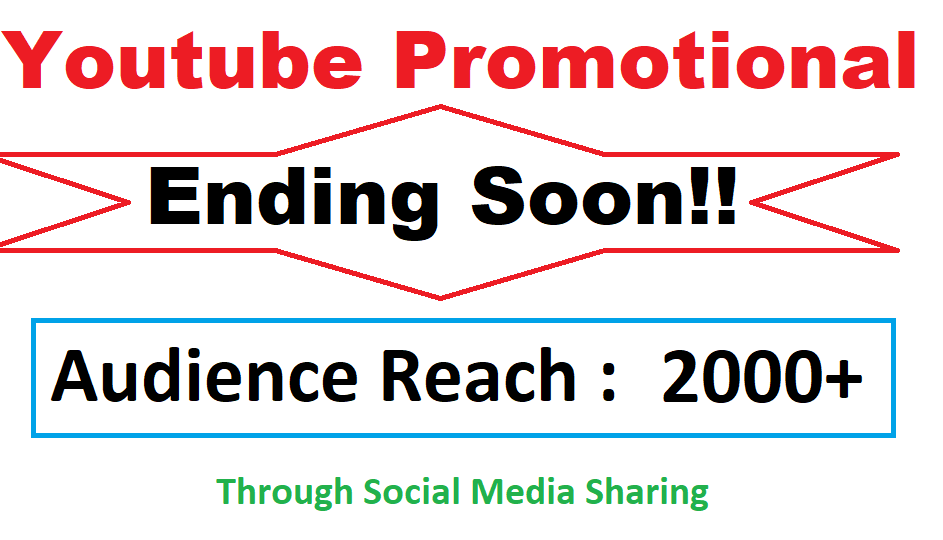 LIMITED TIME Youtube Video Viral Marketing Promotion 2k
