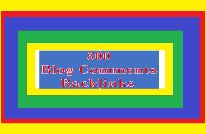 Provide 500+ Blog or Image BACKLINGS for Your Websites