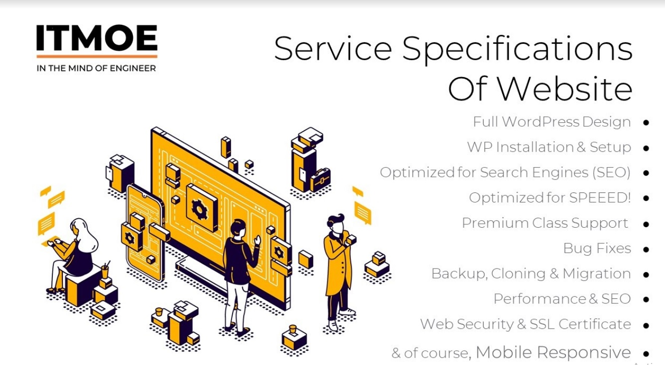 build wordpress website as per business