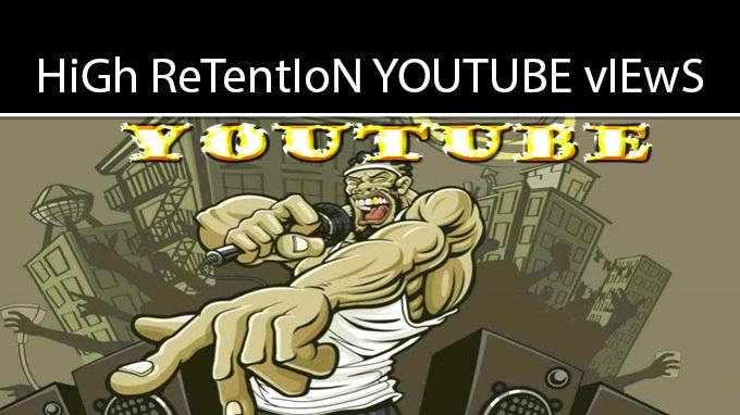 Organic Retention YouTube promo to 10,000 Audience