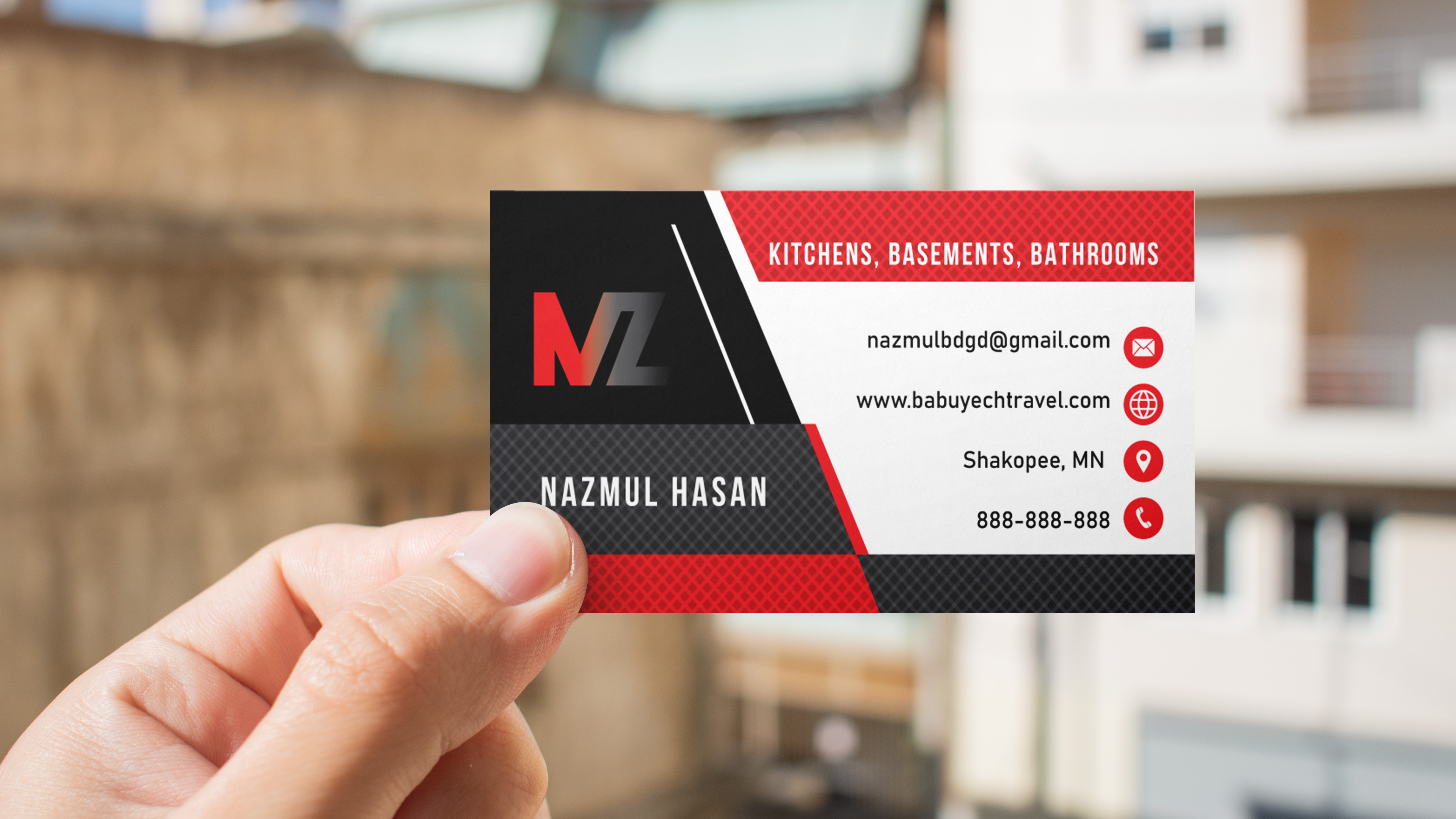 Design any attractive Business Card