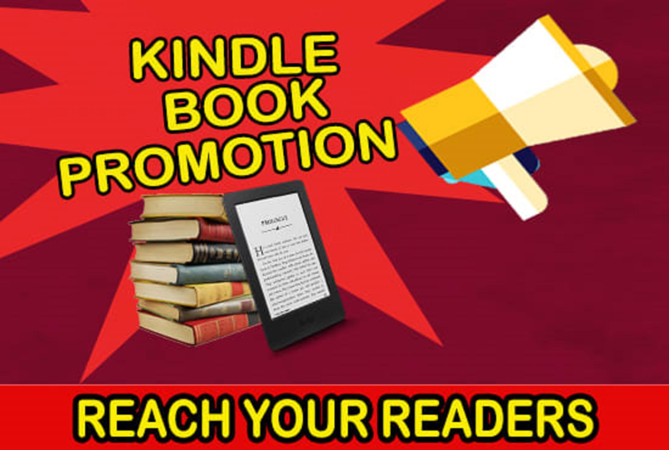 promote your kindle book on my book marketing network