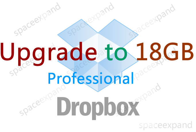 expand your Dropbox space to 18G for lifetime