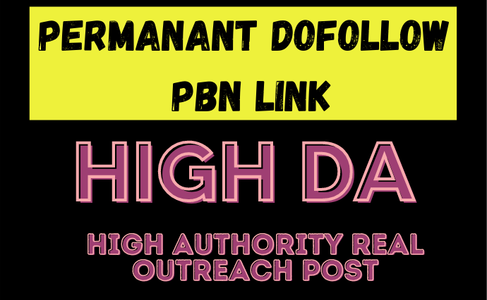 10 High DA PA Dofollow PBN Permanent Link