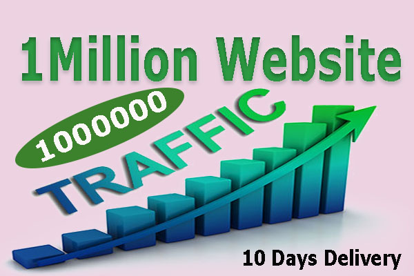 Drive Real 1000000 1M Website Traffic From Social Media For 10 Days