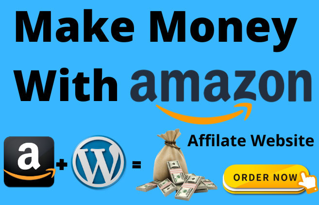 I will create amazon affiliate website with 5000 products