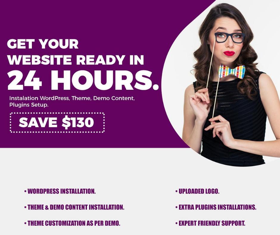 Create Any Wordpress Website In 24 hours