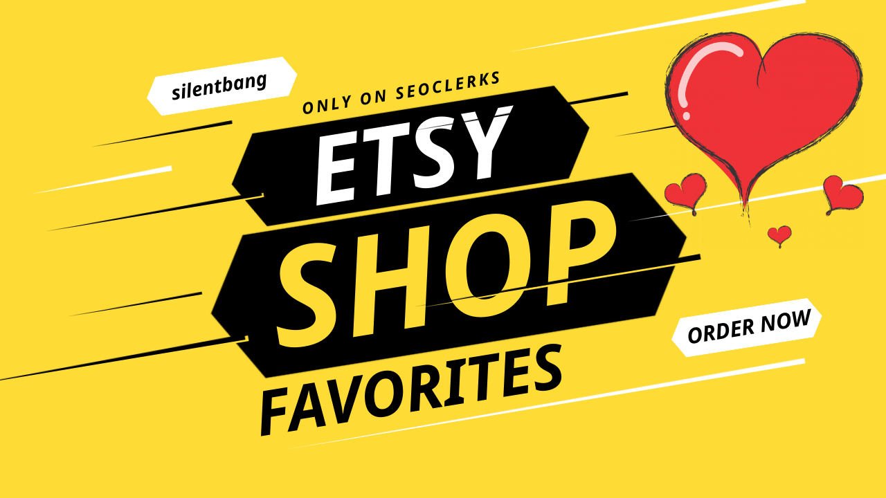 50 HQ USA Etsy Shop Promotion Fast Delivery Limited Offer Only