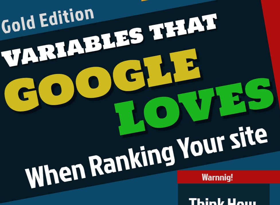 Dominate on Google 1st Page by Conquering Google Ranking Variables - Link Building SEO