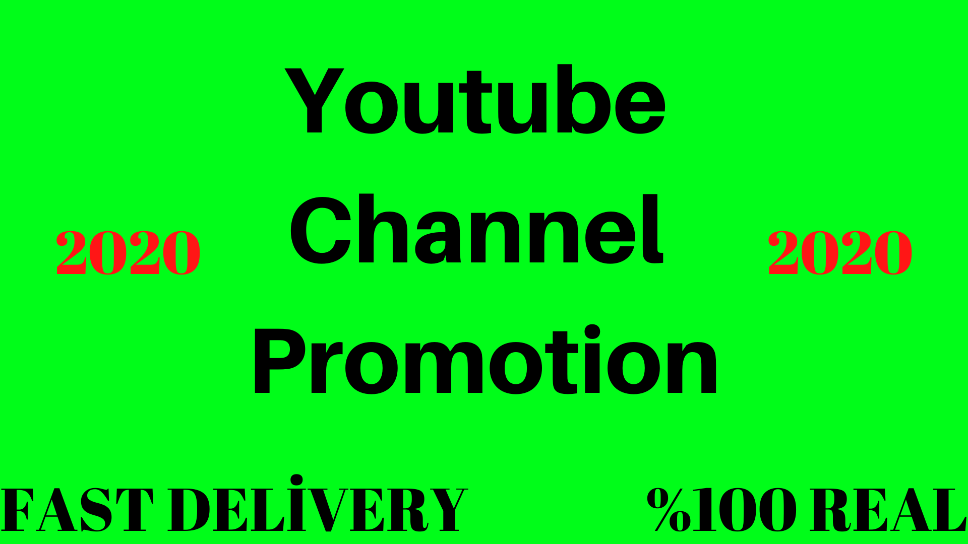 YouTube Channnel Promotion 2020 Method