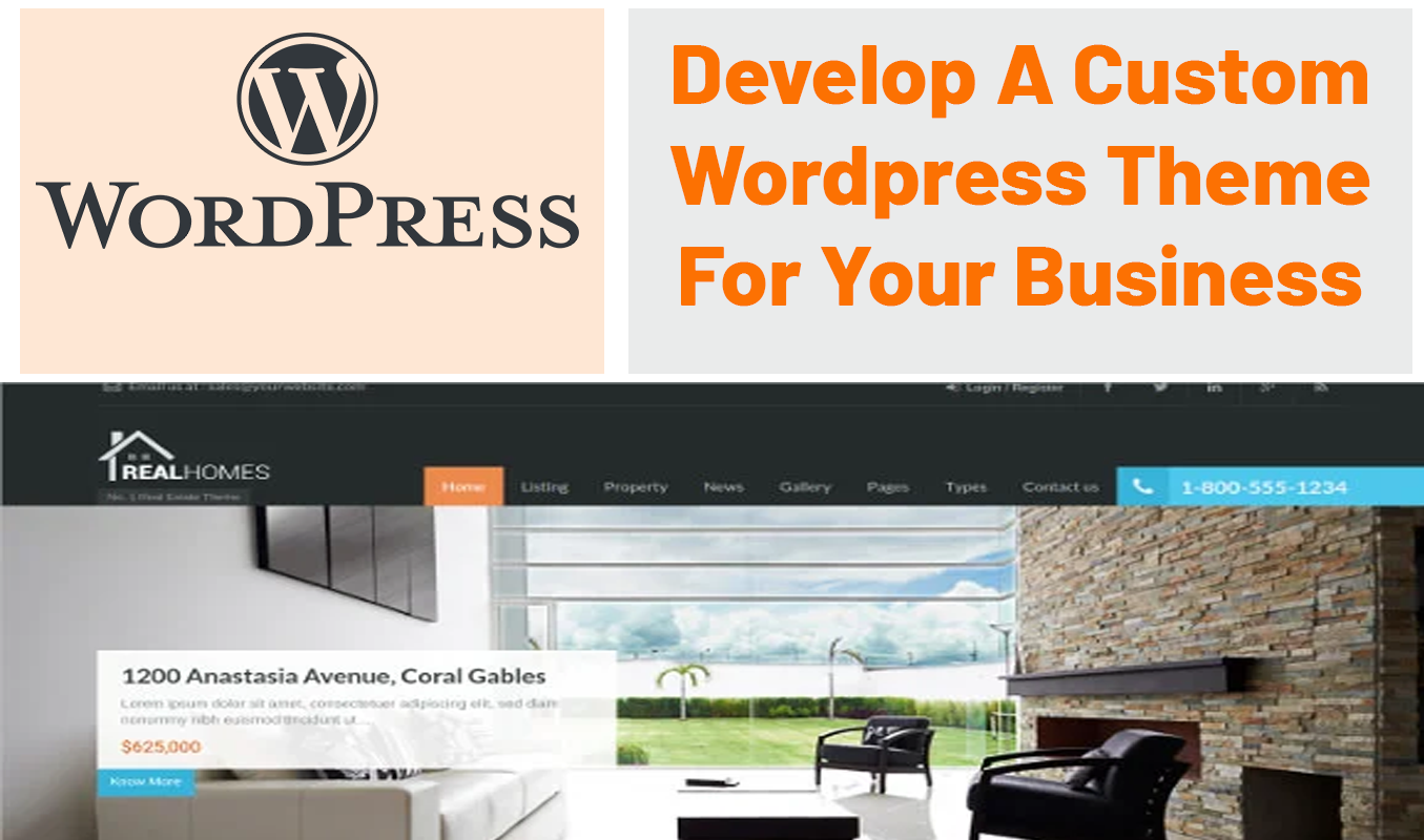 Develop a Custom Wordpress Theme for You