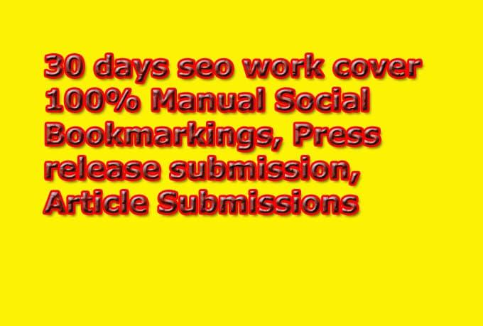 100 social bookmarking signals in HIGH PR websites