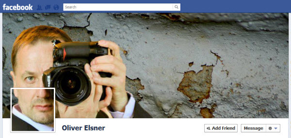 I will Combine facebook cover and profile picture