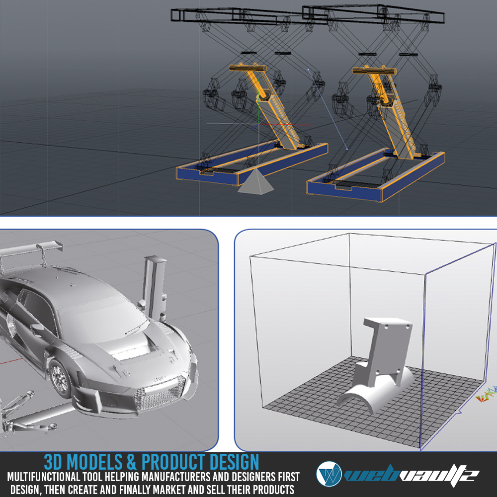 3DsMax Models,  AutoCad,  Drafting & Product Design for Your Project Needs
