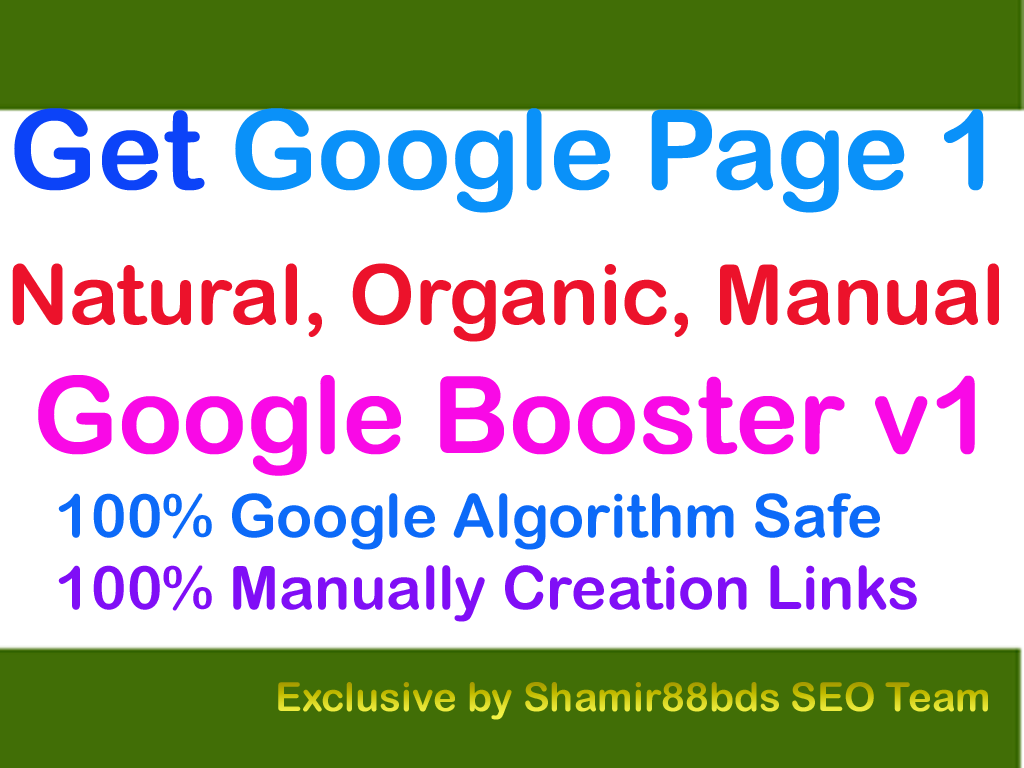 Google Booster v1 - 20,130 Link Pyramid to Google Page 1