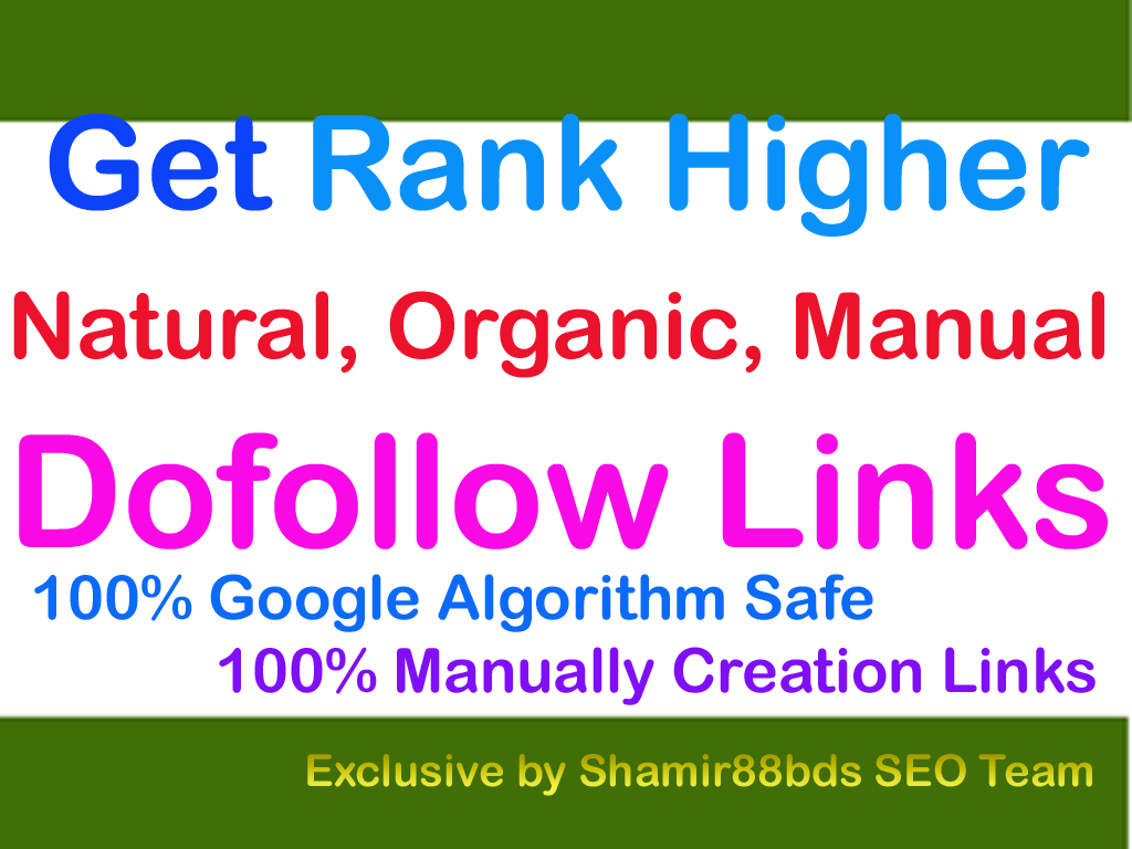 Miracle 100 DA30-DA100 Best Dofollow Links To Rank Higher
