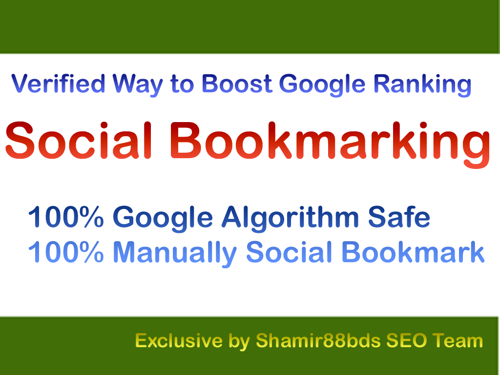 Verified 120 Dofollow Social Bookmarking to Rank Higher
