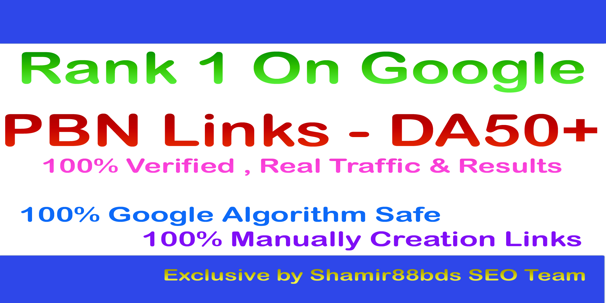 15 PBN Links - DA50+ with Login Details to Rank 1 on Google