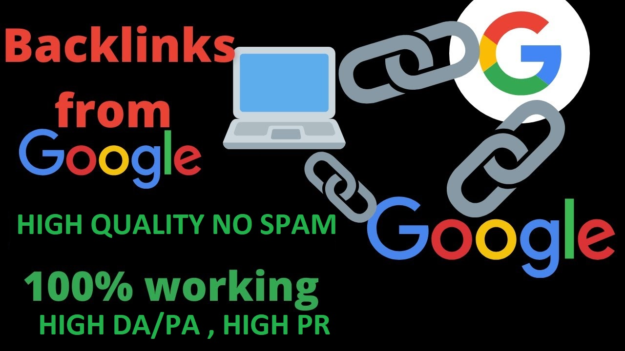 High quality Google backlinks redirects to your website 600 backlinks only google 80 off