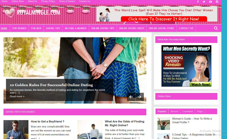 Do Dating website wordpress platform