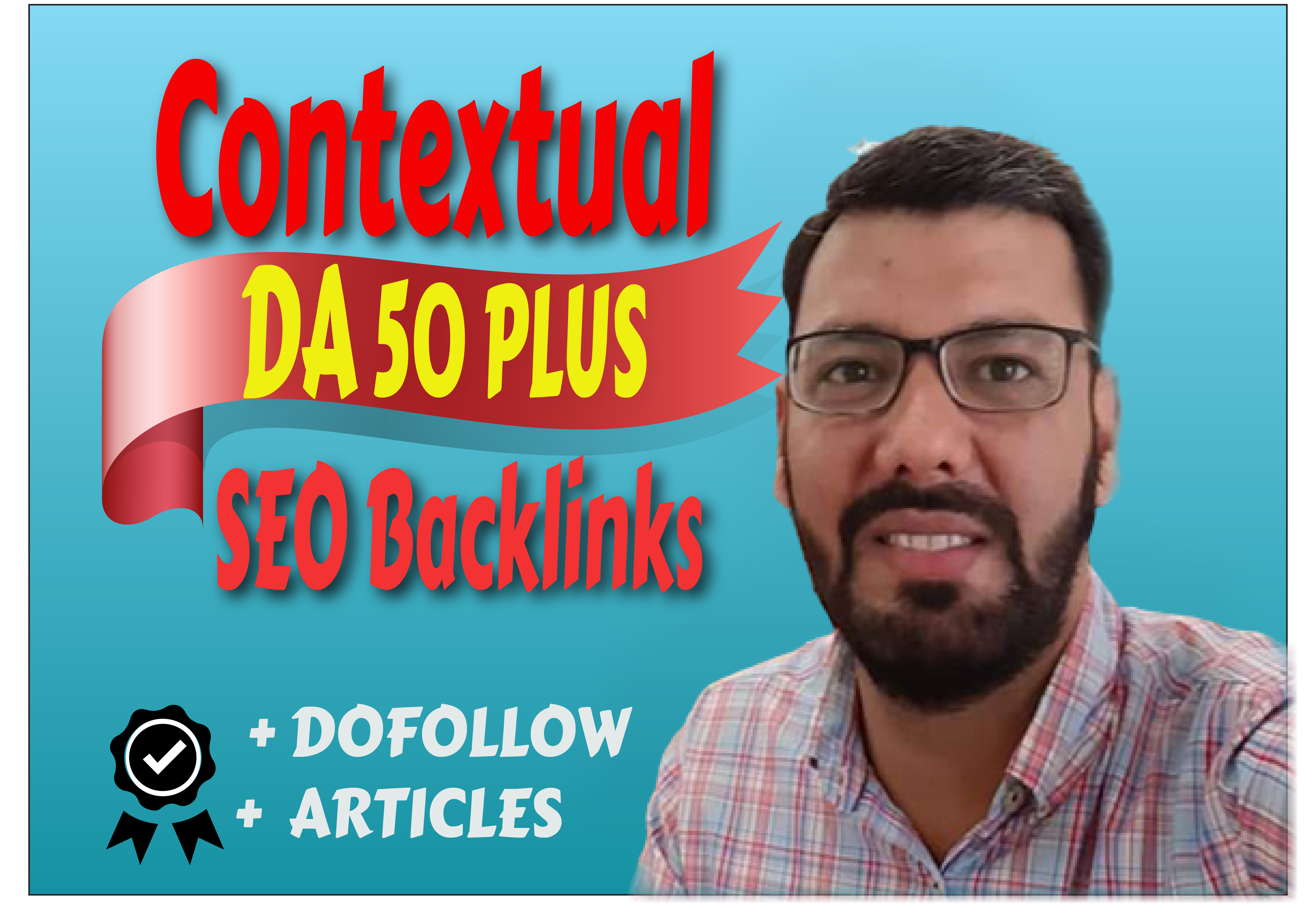 I will build ultra SEO contextual backlinks DA50 plus
