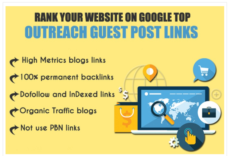 10 Guest Posts On High Metrics Unique Blogs,  Skyrocket Your Website