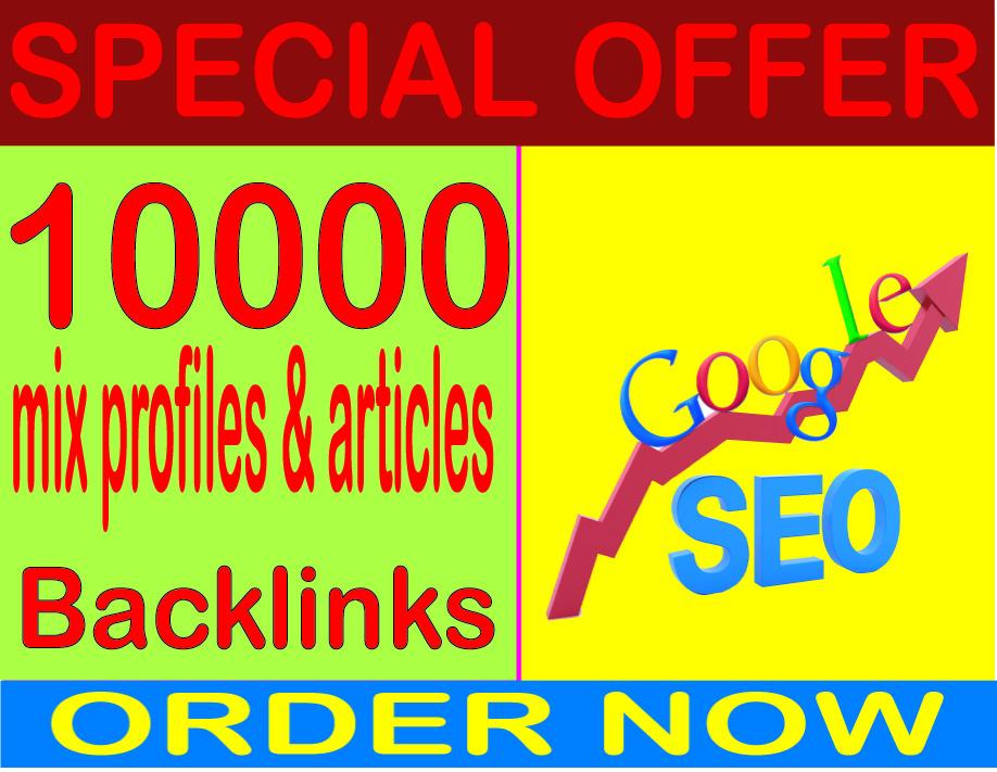 SEO Rank 2020 - Boost Site Alexa Rank 10000 with Mix Profiles & Articles backlinks