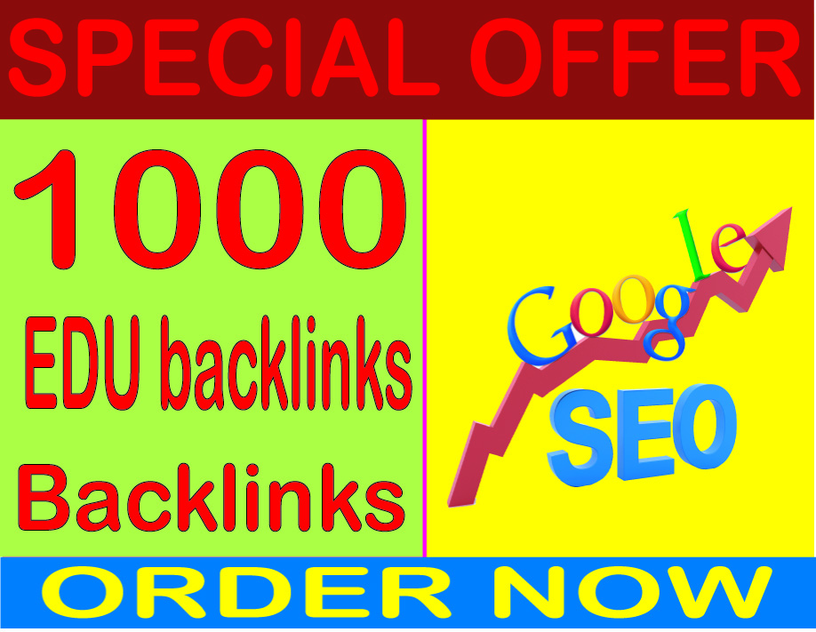 Top SEO Service - Boost Site Alexa Rank with 1000 edu backlinks
