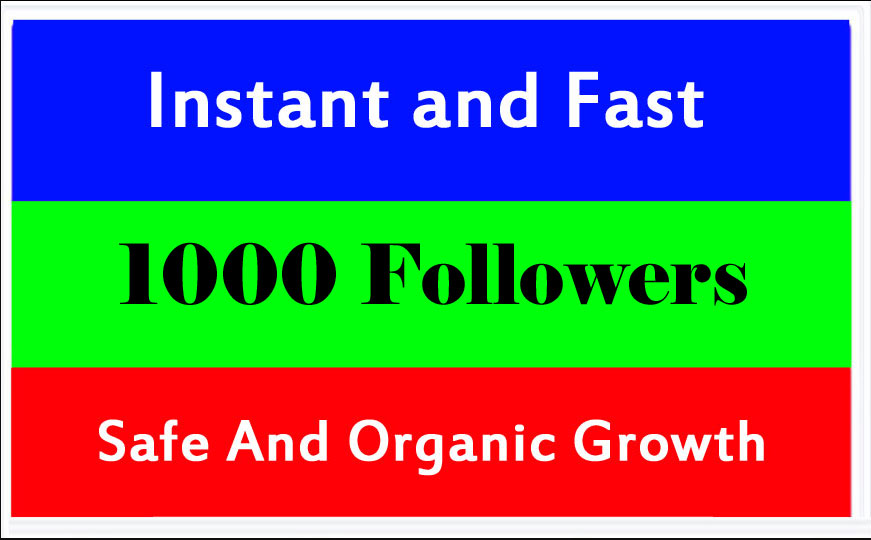 Add 1000 Fast Social Profile Followers