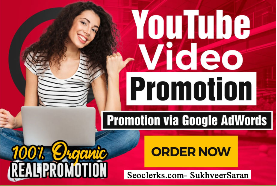 High Retention YouTube video Promotion Marketing Via Google Adwords within 48 Hours