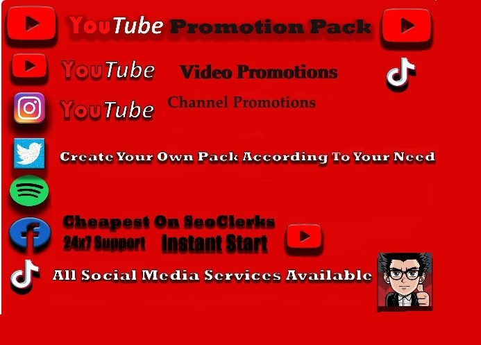 HIGH SPEED Real YouTube Video Promotions Youtube Marketing Service