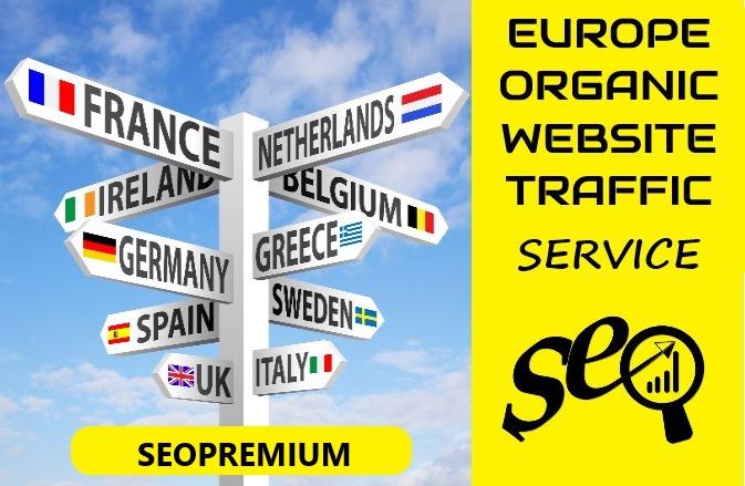 10000 EUROPE Website Traffic Visitors - PROMO offer