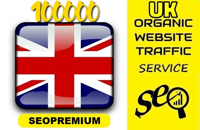 7500 Real UNITED KINGDOM Website traffic