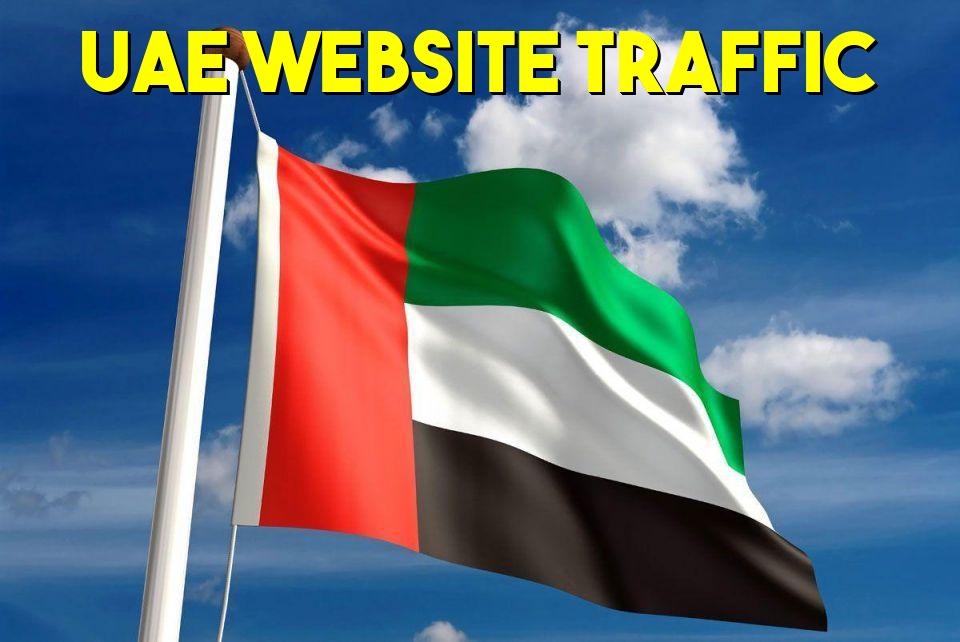 5000 UAE Premium Website traffic