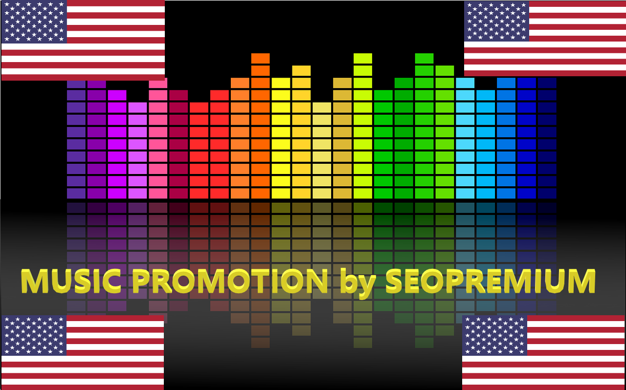 500 USA music listening per day,  steady in 7 days - Promotion