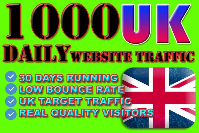 drive UK, Website, traffic REAL, targeted visitors