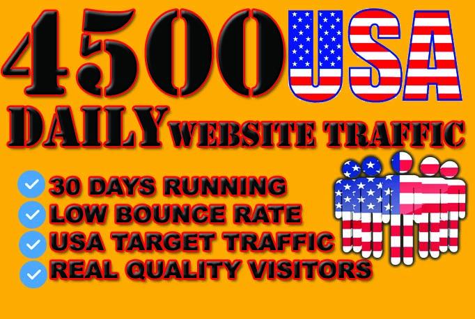 send usa traffic keyword targeted direct traffic visitors