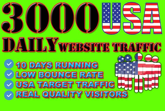 drive USA, Website, traffic niche, targeted visitors