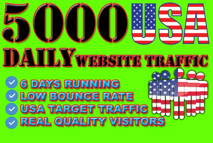 drive USA targeted website, traffic