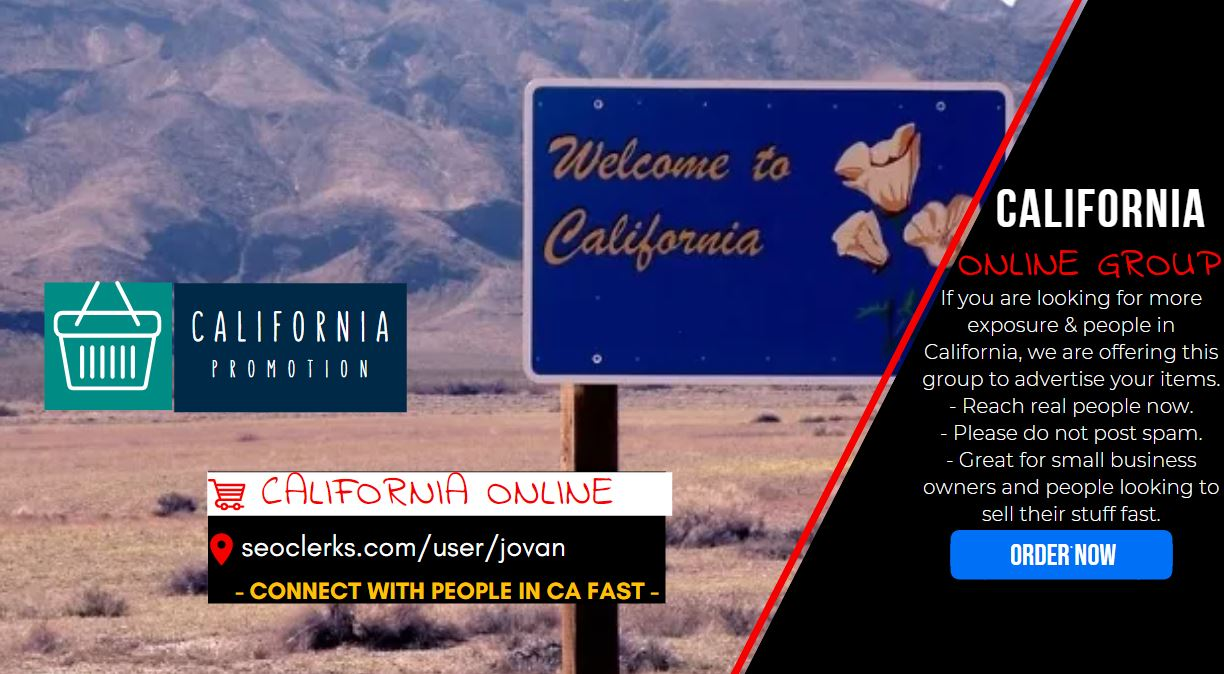 Get Californian traffic campaign and Shoutout promo to 10K people in CA with Social Signal