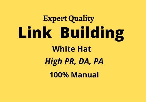 I will do 50 Link building in High DA sites, Backlinks Manually