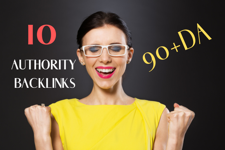 Do 10 Authority Backlinks From 90+DA