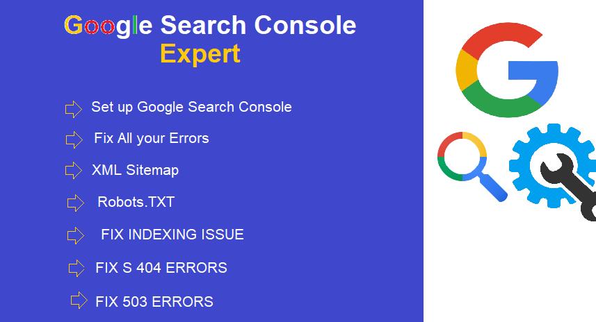 fix index coverage errors in google search console