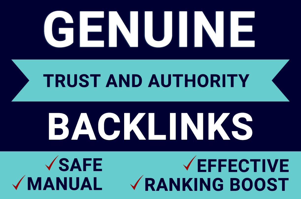 150 DA 60+ Genuine Dofollow Contextual Backlinks