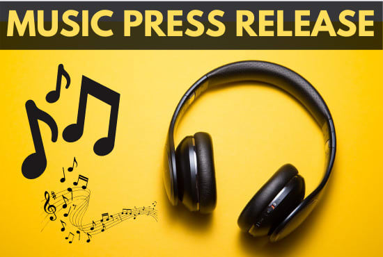 I will write and distribute your music press release and artist bio
